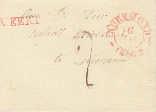 DE POST IN WEERT IN NEDERLANDS LIMBURG 1670-1852 | Collectie Peter Raetsen